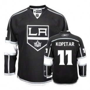 Reebok Los Angeles Kings #11 Anze Kopitar Authentic Black Home Jersey For Sale Size 48/M|50/L|52/XL|54/XXL|56/XXXL