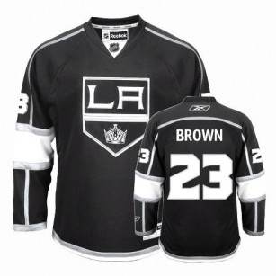 Reebok Los Angeles Kings #23 Dustin Brown Premier Black Home Jersey For Sale Size 48/M|50/L|52/XL|54/XXL|56/XXXL