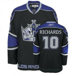Reebok Los Angeles Kings #10 Mike Richards Black Third Authentic Jersey  For Sale Size 48/M|50/L|52/XL|54/XXL|56/XXXL