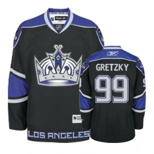 Reebok Los Angeles Kings #99 Wayne Gretzky Black Third Authentic Jersey  For Sale Size 48/M|50/L|52/XL|54/XXL|56/XXXL