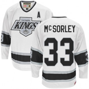 separation shoes cd65d 841b3 Marty Mcsorley Authentic Throwback White Jersey - CCM LA ...