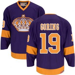 Los Angeles Kings #19 Butch Goring Premier Purple CCM Throwback Jersey Cheap Online 48 M 50 L 52 XL 54 XXL 56 XXXL