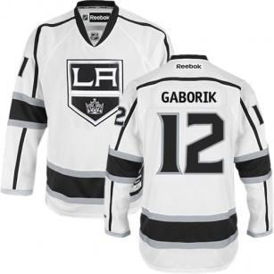 Los Angeles Kings #12 Marian Gaborik White Premier Away Jersey Cheap Online 48 M 50 L 52 XL 54 XXL 56 XXXL
