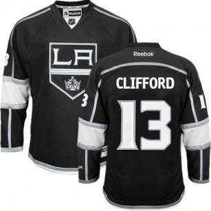 Los Angeles Kings #13 Kyle Clifford Black Authentic Home Jersey Cheap Online 48|M|50|L|52|XL|54|XXL|56|XXXL