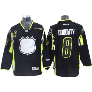 Drew Doughty Premier Black 2015 All Star Jersey - Los Angeles Kings #8 Clothing