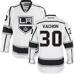 Los Angeles Kings #30 Rogie Vachon Authentic White Away Jersey Cheap Online 48|M|50|L|52|XL|54|XXL|56|XXXL