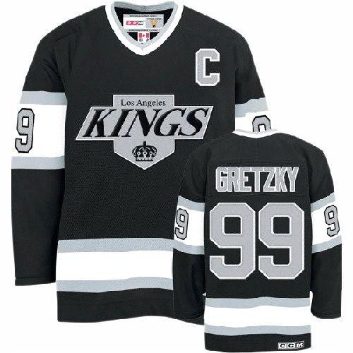 reputable site 8cc91 5c075 all black la kings jersey