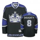 Reebok Los Angeles Kings #8 Drew Doughty Black Third Premier Jersey For Sale Size 48/M|50/L|52/XL|54/XXL|56/XXXL
