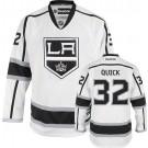 Reebok Los Angeles Kings #32 Jonathan Quick White Road Authentic Jersey  For Sale Size 48/M|50/L|52/XL|54/XXL|56/XXXL