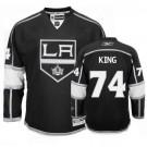 Reebok Los Angeles Kings #74 Dwight King Black Home Premier Jersey  For Sale Size 48/M|50/L|52/XL|54/XXL|56/XXXL