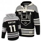 Old Time Hockey Los Angeles Kings #11 Anze Kopitar Black Premier Sawyer Hooded Sweatshirt Jersey Cheap Online 48|M|50|L|52|XL|54|XXL|56|XXXL