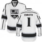 Los Angeles Kings #1 Jhonas Enroth Authentic White Away Jersey Cheap Online 48|M|50|L|52|XL|54|XXL|56|XXXL