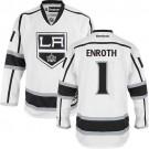 Los Angeles Kings #1 Jhonas Enroth Premier White Away Jersey Cheap Online 48|M|50|L|52|XL|54|XXL|56|XXXL