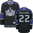 Los Angeles Kings #22 Tiger Williams Authentic Black Third Jersey Cheap Online 48|M|50|L|52|XL|54|XXL|56|XXXL