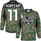 Los Angeles Kings #11 Anze Kopitar Camo Authentic Veterans Day Practice Jersey Cheap Online 48|M|50|L|52|XL|54|XXL|56|XXXL