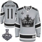 Anze Kopitar Premier Gray 2014 Stadium Series With 2014 Stanley Cup Jersey - Los Angeles Kings #11 Clothing
