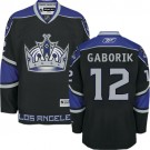 Los Angeles Kings #12 Marian Gaborik Black Authentic Third Jersey Cheap Online 48|M|50|L|52|XL|54|XXL|56|XXXL