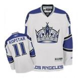 Reebok Los Angeles Kings #11 Anze Kopitar Authentic White Third Jersey