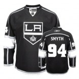 Reebok Los Angeles Kings #94 Ryan Smyth Authentic Black Home Jersey For Sale Size 48/M|50/L|52/XL|54/XXL|56/XXXL