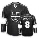 Reebok Los Angeles Kings #8 Drew Doughty Authentic Black Home Jersey For Sale Size 48/M|50/L|52/XL|54/XXL|56/XXXL
