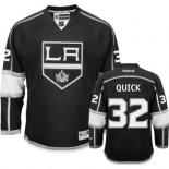 Reebok Los Angeles Kings #32 Jonathan Quick Black Home Authentic Jersey  For Sale Size 48/M|50/L|52/XL|54/XXL|56/XXXL