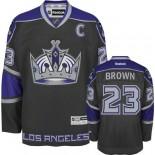 Reebok Los Angeles Kings #23 Dustin Brown Black Third Authentic Jersey  For Sale Size 48/M|50/L|52/XL|54/XXL|56/XXXL