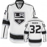 Reebok Los Angeles Kings #32 Jonathan Quick White Road Authentic Jersey  For Sale Size 48/M|50/L|52/XL|54/XXL|56/XXXL