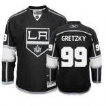Reebok Los Angeles Kings #99 Wayne Gretzky Black Home Premier Jersey  For Sale Size 48/M|50/L|52/XL|54/XXL|56/XXXL