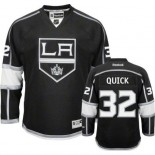 Youth Reebok Los Angeles Kings #32 Jonathan Quick Black Home Premier Jersey  For Sale Size Small/Mediun|Large/Extra Large