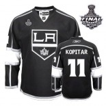 Youth Reebok Los Angeles Kings #11 Anze Kopitar Black Home Authentic With 2014 Stanley Cup Finals Jersey  For Sale Size Small/Mediun|Large/Extra Large