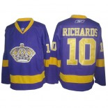 Reebok Los Angeles Kings #10 Mike Richards Purple Authentic Jersey  For Sale Size 48/M|50/L|52/XL|54/XXL|56/XXXL