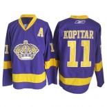 Reebok Los Angeles Kings #11 Anze Kopitar Purple Premier Jersey  For Sale Size 48/M|50/L|52/XL|54/XXL|56/XXXL