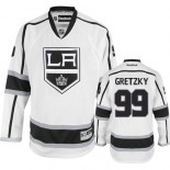 Reebok Los Angeles Kings #99 Wayne Gretzky White Road Premier Jersey  For Sale Size 48/M|50/L|52/XL|54/XXL|56/XXXL