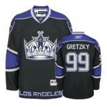 Reebok Los Angeles Kings #99 Wayne Gretzky Black Third Premier Jersey  For Sale Size 48/M|50/L|52/XL|54/XXL|56/XXXL