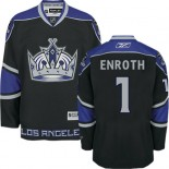Los Angeles Kings #1 Jhonas Enroth Authentic Black Third Jersey Cheap Online 48|M|50|L|52|XL|54|XXL|56|XXXL