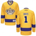 Los Angeles Kings #1 Jhonas Enroth Premier Gold Third Jersey Cheap Online 48|M|50|L|52|XL|54|XXL|56|XXXL