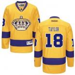 Los Angeles Kings #18 Dave Taylor Premier Gold Third Jersey Cheap Online 48|M|50|L|52|XL|54|XXL|56|XXXL