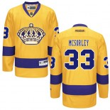 Marty Mcsorley Premier Third Gold Jersey - Los Angeles Kings #33 Clothing