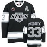 Marty Mcsorley Premier Throwback Black Jersey - CCM LA Kings #33 Clothing