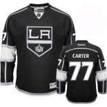 Los Angeles Kings #77 Jeff Carter Authentic Black Home Jersey Cheap Online 48|M|50|L|52|XL|54|XXL|56|XXXL