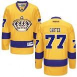 Los Angeles Kings #77 Jeff Carter Premier Gold Third Jersey Cheap Online 48|M|50|L|52|XL|54|XXL|56|XXXL