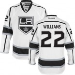 Los Angeles Kings #22 Tiger Williams Premier White Away Jersey Cheap Online 48|M|50|L|52|XL|54|XXL|56|XXXL