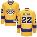Los Angeles Kings #22 Tiger Williams Authentic Gold Third Jersey Cheap Online 48|M|50|L|52|XL|54|XXL|56|XXXL