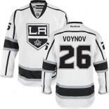 Los Angeles Kings #26 Slava Voynov Authentic White Away Jersey Cheap Online 48|M|50|L|52|XL|54|XXL|56|XXXL