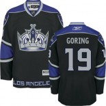 Los Angeles Kings #19 Butch Goring Authentic Black Third Jersey Cheap Online 48|M|50|L|52|XL|54|XXL|56|XXXL