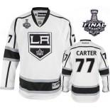 Los Angeles Kings #77 Jeff Carter Premier White Away 2014 Stanley Cup Jersey Cheap Online 48|M|50|L|52|XL|54|XXL|56|XXXL