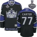 Los Angeles Kings #77 Jeff Carter Authentic Black Third 2014 Stanley Cup Jersey Cheap Online 48|M|50|L|52|XL|54|XXL|56|XXXL