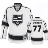 Youth Los Angeles Kings #77 Jeff Carter Premier White Away Jersey Cheap Online Small/Medium|Large/Extra Large