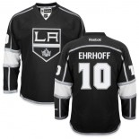 Christian Ehrhoff Authentic Home Black Jersey - Los Angeles Kings #10 Clothing