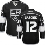Los Angeles Kings #12 Marian Gaborik Black Premier Home Jersey Cheap Online 48|M|50|L|52|XL|54|XXL|56|XXXL